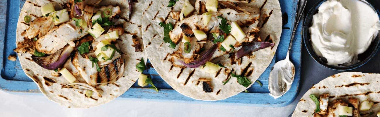 Chicken & Pineapple Tacos Image