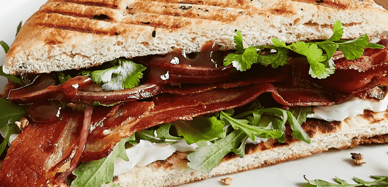 Naan Bacon Butty Image