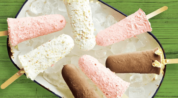 Strawberry & Coconut Lollies Image